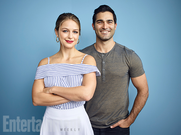 Melissa Benoist and Tyler Hoechlin, 'Supergirl'