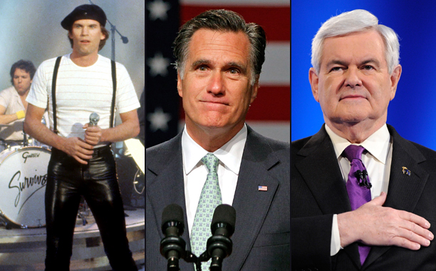 Survivor vs. Newt Gingrich and Mitt Romney