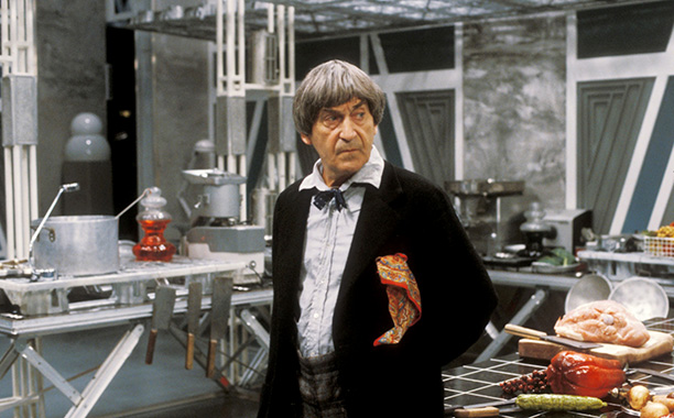 """7. Patrick Troughton (Second Doctor) in """"The Two Doctors"""" (1985)"""
