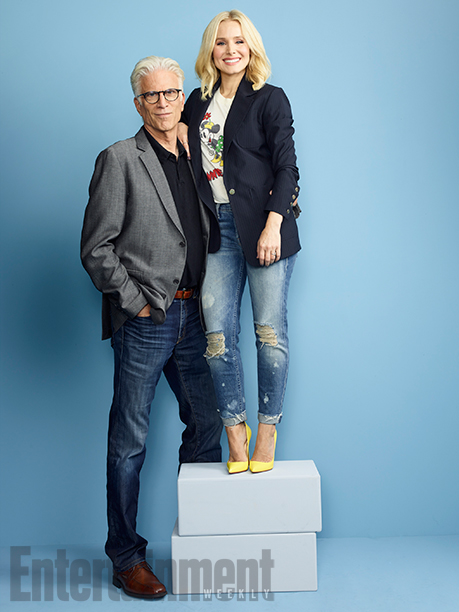 Ted Danson and Kristen Bell, 'The Good Place'