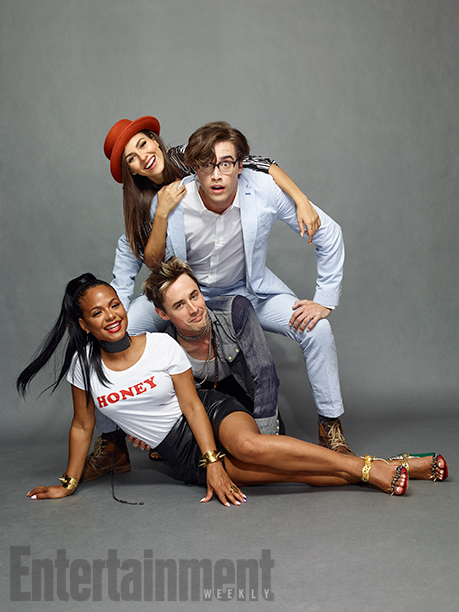 Victoria Justice, Ryan McCartan, Reeve Carney and Christina Milian, 'The Rocky Horror Picture Show'