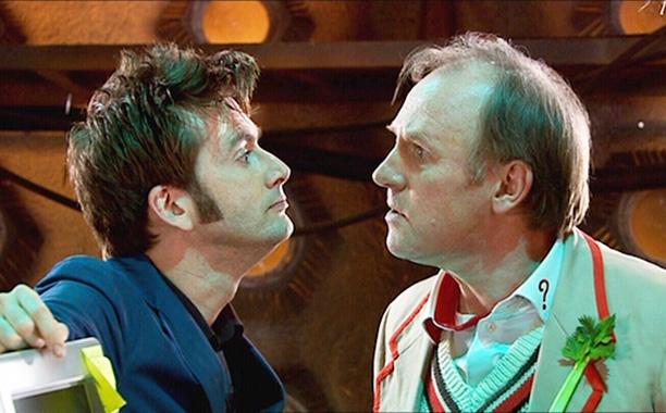 "2. Peter Davison (Fifth Doctor) in ""Time Crash"" (2007)"