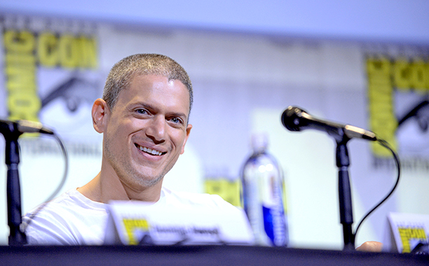 Wentworth Miller at the Fox Action Showcase