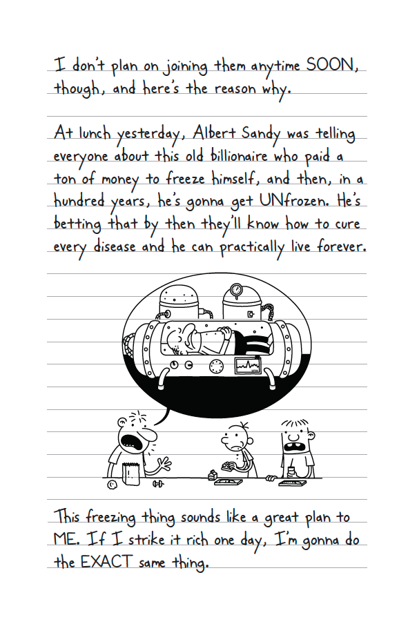 Diary Of A Wimpy Kid Book Double Down Read An Excerpt Ew Com