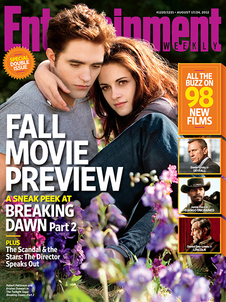 2012: Robert Pattinson and Kristen Stewart in The Twilight Saga: Breaking Dawn – Part 2