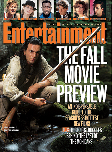1992: Daniel Day-Lewis in The Last of the Mohicans
