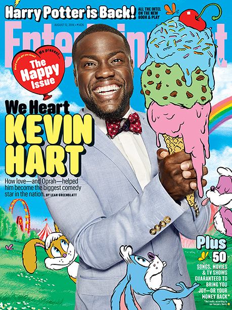 Kevin Hart on the Cover of EW