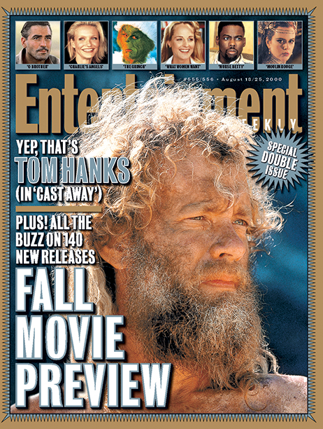 2000: Tom Hanks in Castaway