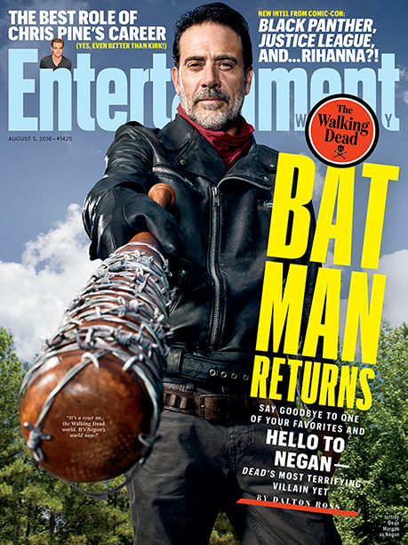 Jeffrey Dean Morgan on the cover of EW