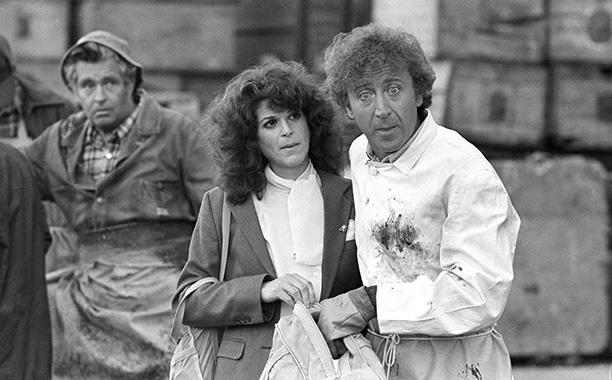 Gene Wilder Filming Hanky Panky With Gilda Radner on August 27, 1981