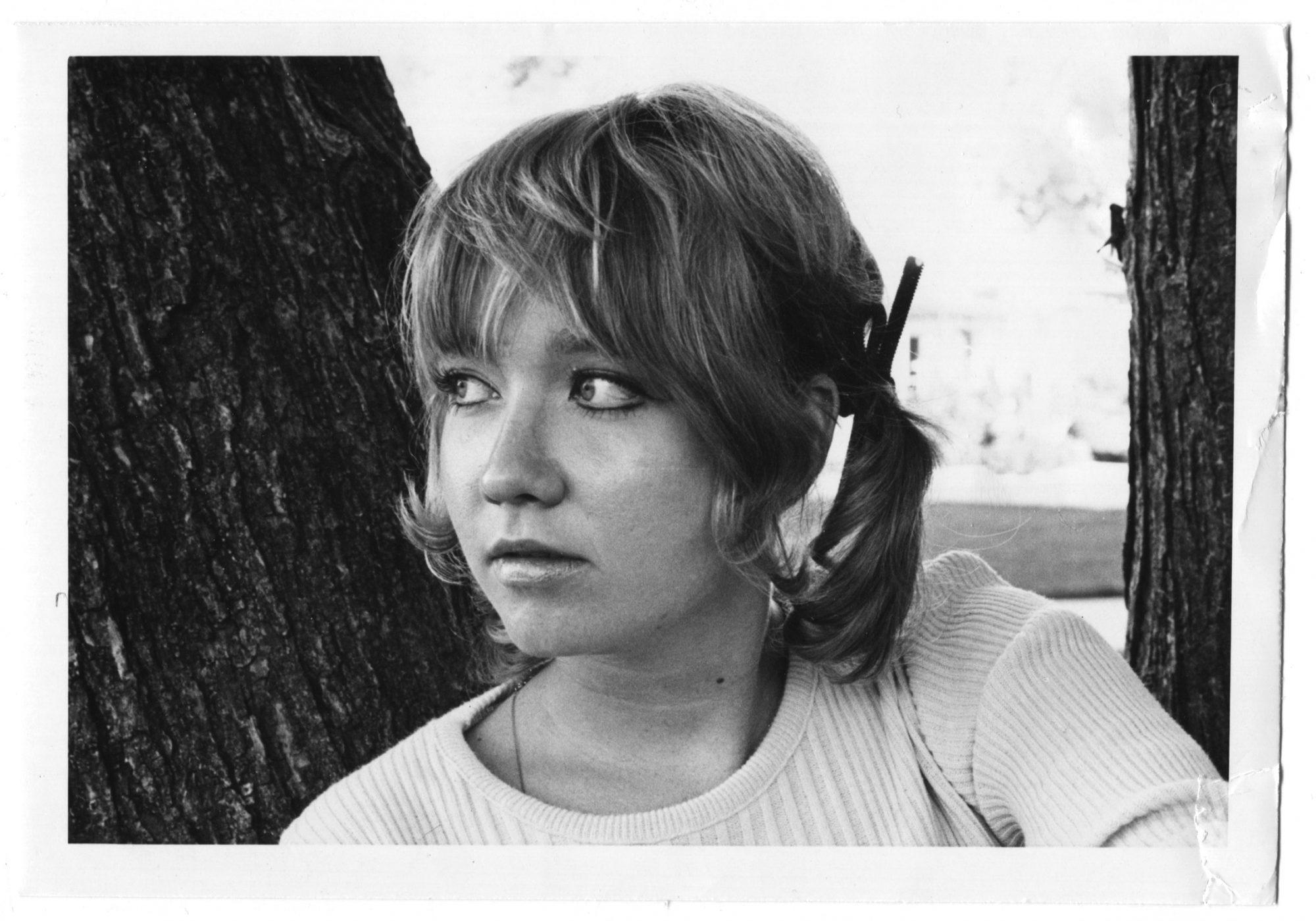 S.E. Hinton as a teen