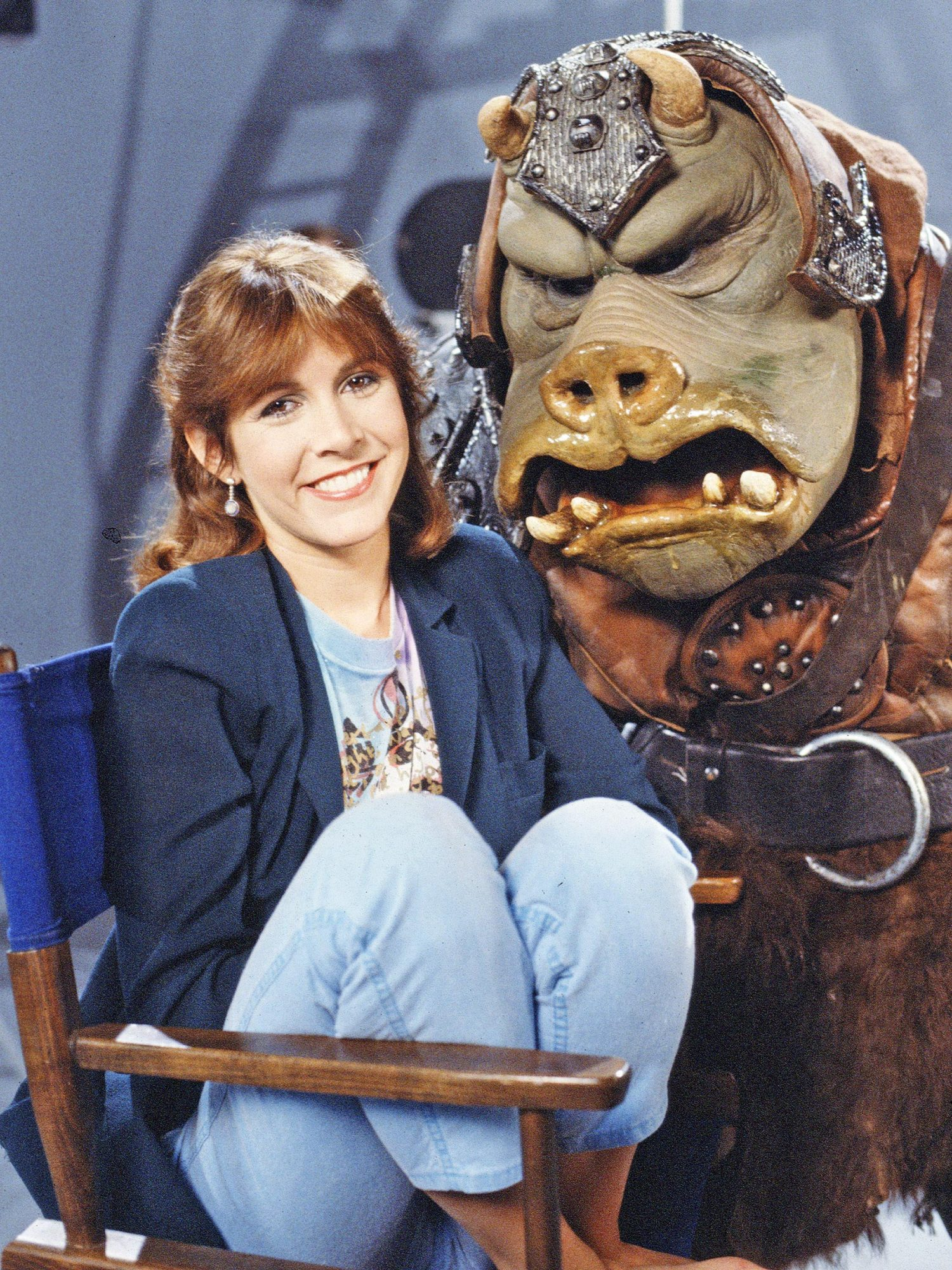 Carrie Fisher In 'Classic Creatures: Return Of The Jedi'