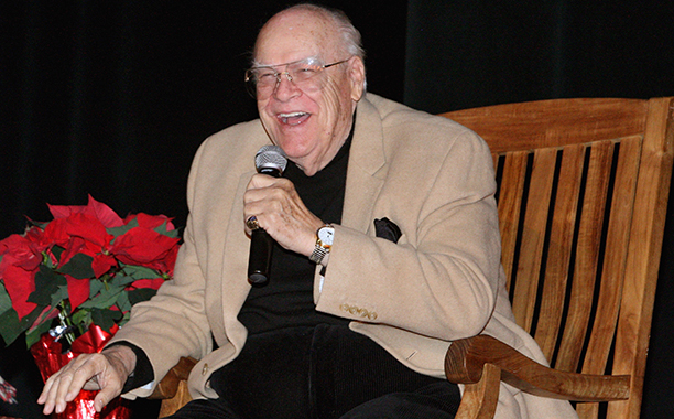 GALLERY: Stars We Lost in 2016: ALL CROPS: 134593428 Actor David Huddleston attends the 40th Anniversary Reunion Of 'The Waltons' at Landmark Loew's - Jersey City on December 2, 2011 in Jersey City, New Jersey. (Photo by Bennett Raglin/Getty Images)