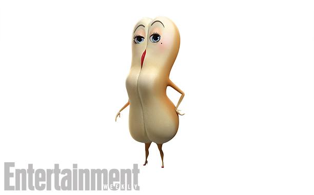 Brenda the hot dog bun, voiced by Kristen Wiig