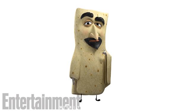 Lavash, voiced by David Krumholtz