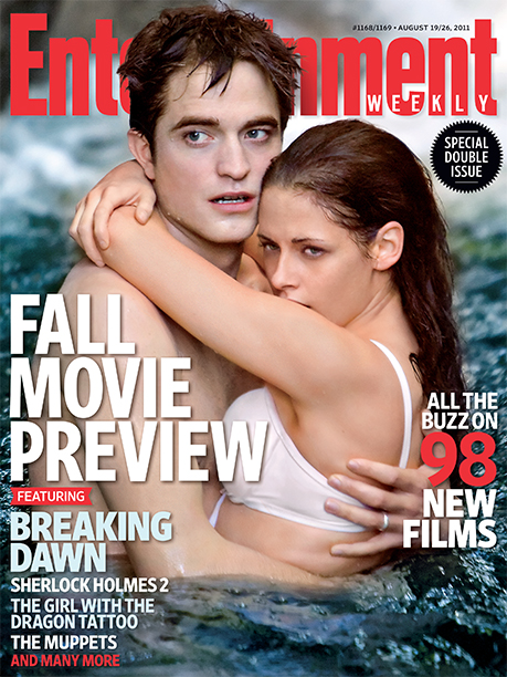2011: Robert Pattinson and Kristen Stewart in The Twilight Saga: Breaking Dawn – Part 1