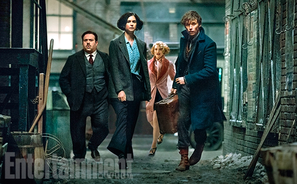 'Fantastic Beasts and Where to Find Them': Heroes on the Run