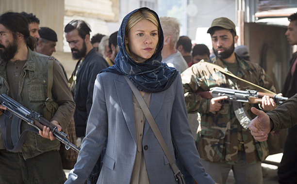 Claire Danes as Carrie Mathison, Homeland
