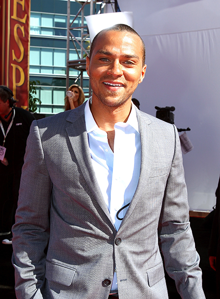 Jesse Williams at the 2010 ESPY Awards on July 14, 2010