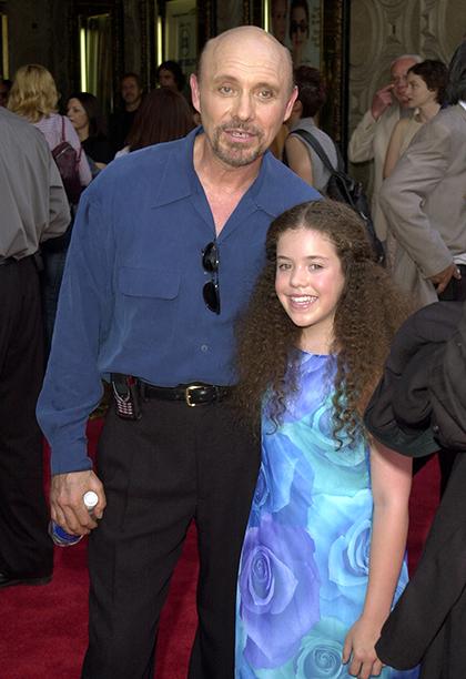 Hector Elizondo with Granddaughter Juliet Elizondo