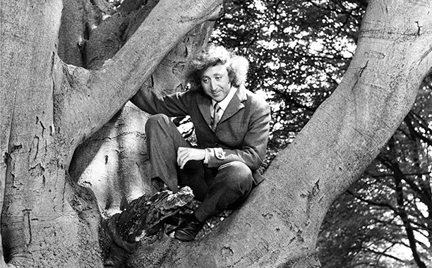 Gene Wilder as The Fox on the set of The Little Prince in 1974