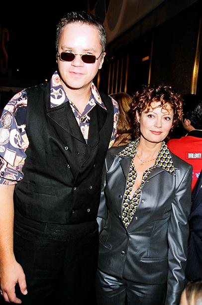 Presenters Tim Robbins and Susan Sarandon