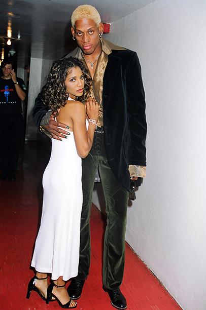 Presenters Toni Braxton and Dennis Rodman