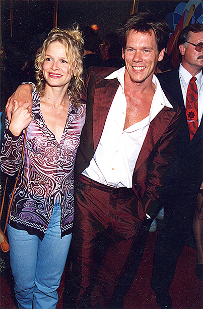 Presenter Kevin Bacon and Wife Kyra Sedgwick