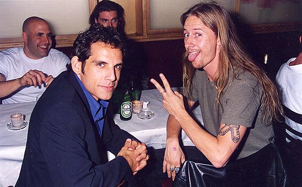 Ben Stiller and Jerry Cantrell
