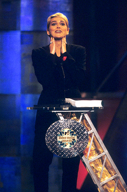 Video of the Year Presenter Sharon Stone