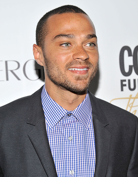Jesse Williams in New York City on March 5, 2012