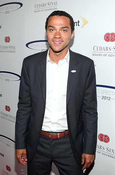 Jesse Williams at the 27th Anniversary Sports Spectacular on May 20, 2012