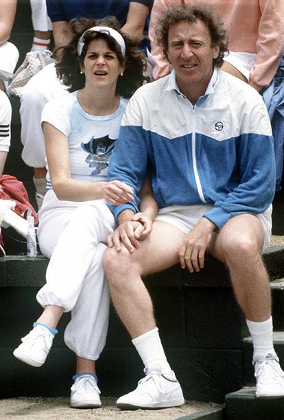 Gene Wilder With Gilda Radner Circa 1987