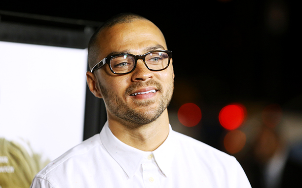 Jesse Williams at the Special Los Angeles Screening of 12 Years A Slave on October 14, 2013
