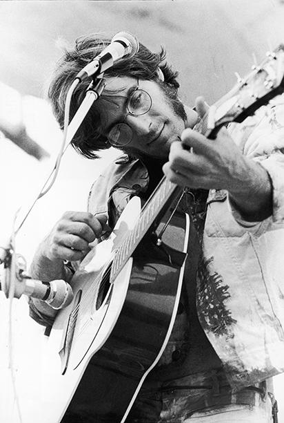John Sebastian Performing at Woodstock