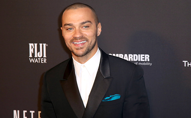 Jesse Williams at The Weinstein Company & Netflix's 2014 Golden Globes After Party on January 12, 2014