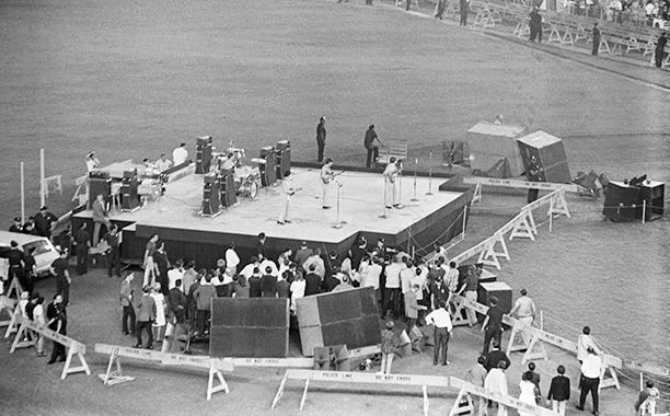 The Stage at Shea Stadium