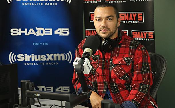 Jesse Williams at the SiriusXM Studio on May 23, 2016