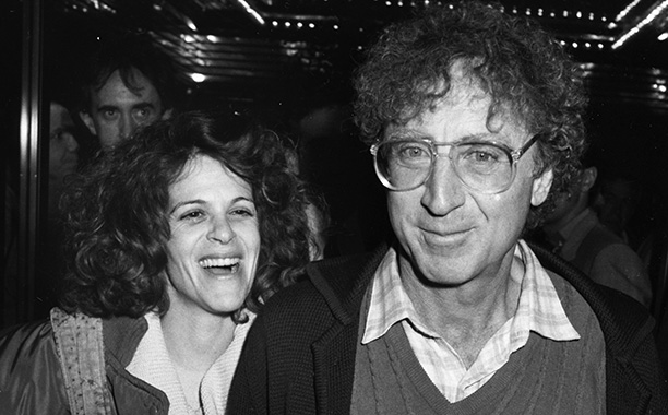 Gene Wilder With Gilda Radner at the Premiere Hannah and her Sisters in Los Angeles on January 16, 1986