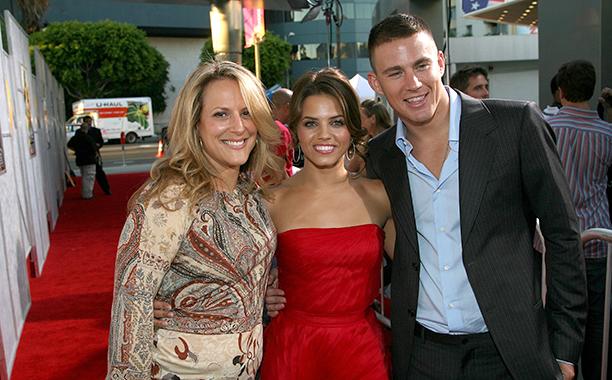 Anne Fletcher, Jenna Dewan, and Channing Tatum