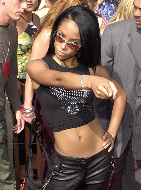 Aaliyah at the Teen Choice Awards on August 6, 2000