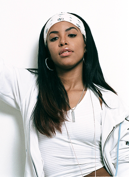 Aaliyah in February 2001