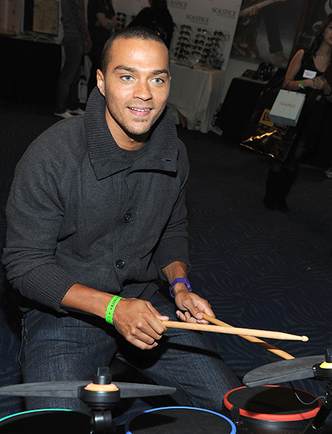 Jesse Williams at a Celebration for the American Music Awards on November 20, 2009
