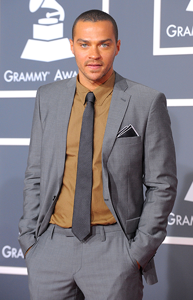 Jesse Williams at the 52nd Annual Grammy Awards on January 31, 2010
