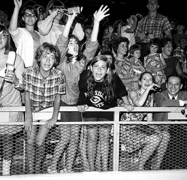 Beatles Fans at Shea Stadium