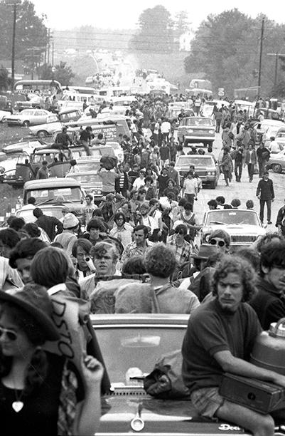 Traffic Leading to Woodstock