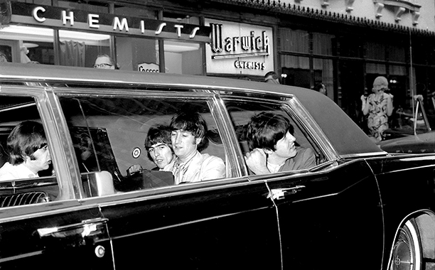 The Beatles Leaving for Shea Stadium