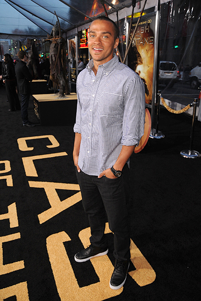 Jesse Williams at the Clash Of The Titans Premiere in Los Angeles on March 31, 2010