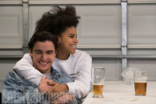 Dave Franco and Zazie Beetz in Easy