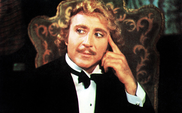 Gene Wilder in Young Frankenstein in 1974